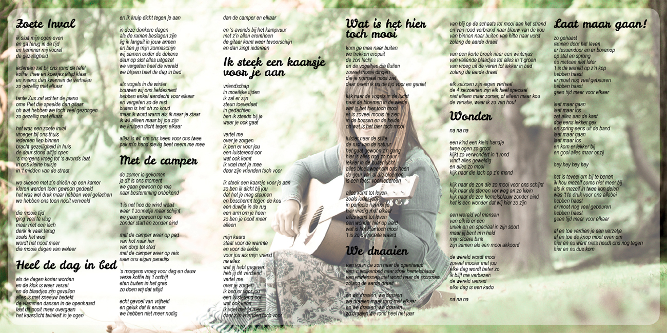 Zoete inval - album - lyrics